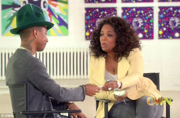 Oprah interviews Pharrell Williams
