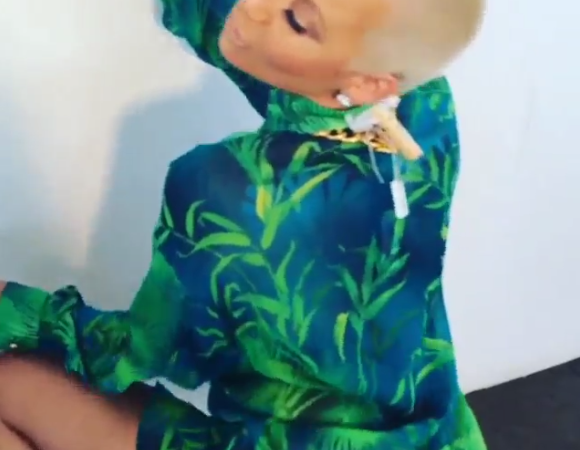 Amber Rose Twerks for Instagram