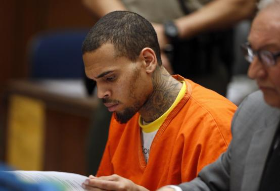 Chris Brown Awaiting Sentencing