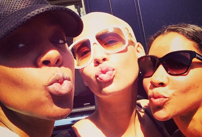 Kelly Rowland, Amber Rose and Jeanette Jenkins Gather At Coachella