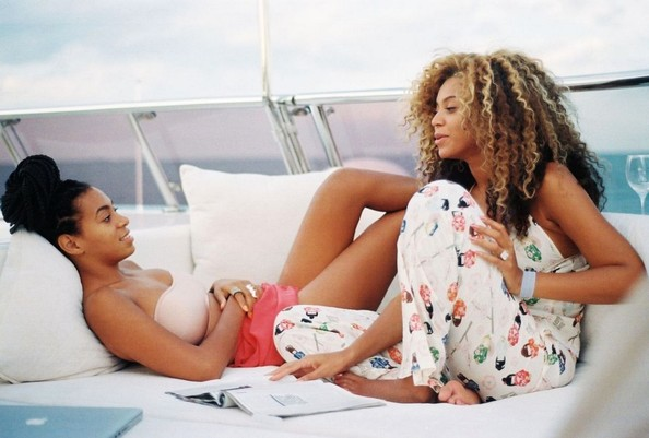 Solange and Beyonce Knowles