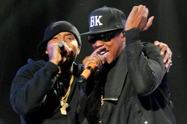 Nas and Jay Z Perform at Coachella