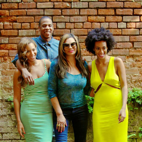 Beyonce, Jay Z and Solange in New Orleans