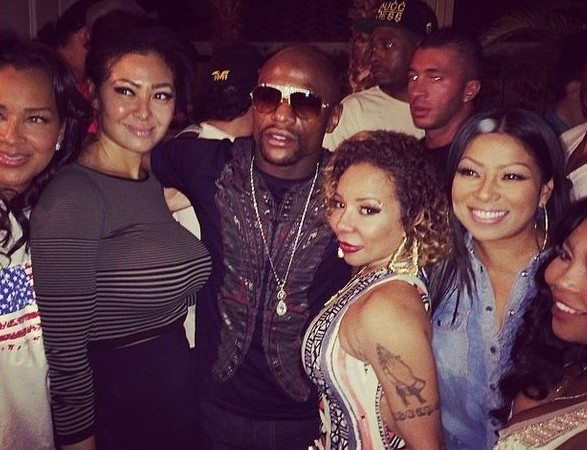 Floyd Mayweather, T.I. Fight