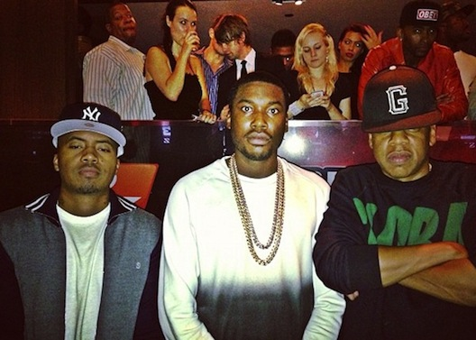 Meek Mill Has Song With Nas, Jay and Nipsey