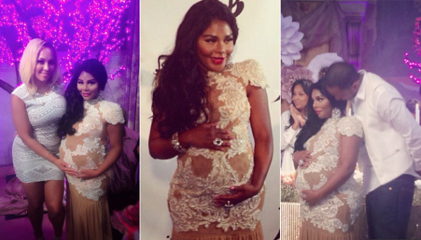 Lil Kim Throws A Pink Carpet Royal Baby Shower