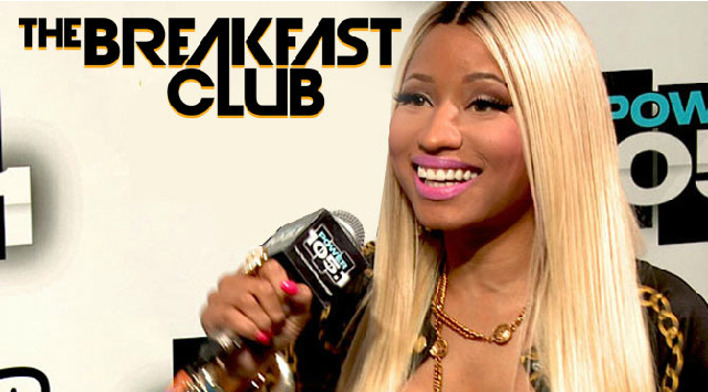 Nicki Minaj The Breakfast Club