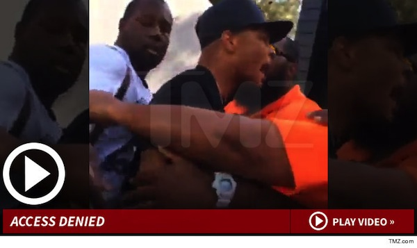 T.I. Involved in Security Scuffle