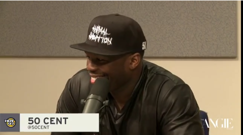 50 Cent on Angie Martinez Show