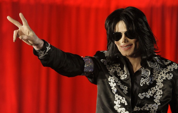 Michael Jackson Peace Sign