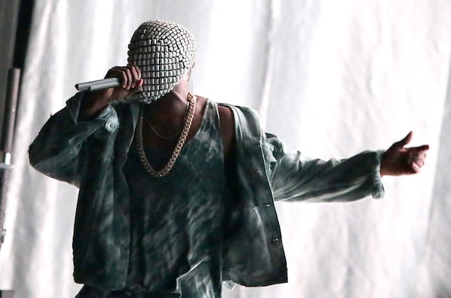 Kanye West at Bonnaroo 2014