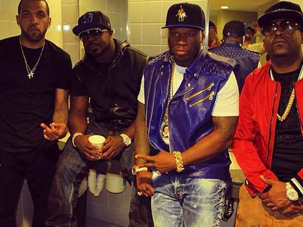 G-Unit: 50 Cent, Lloyd Banks, Tony Yayo, Young Buck
