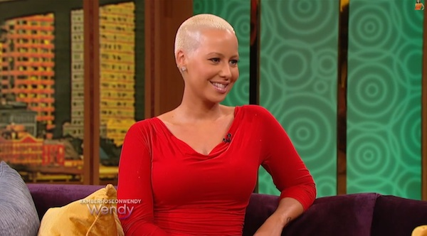 amber rose speaks on kanye and kim kardashian