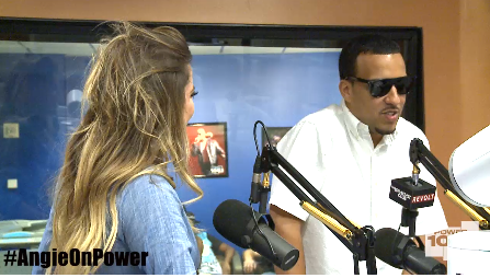 French Montana and Khloe on 105.1