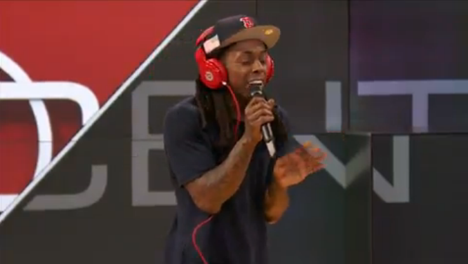 Lil Wayne Sportscenter Freestyle