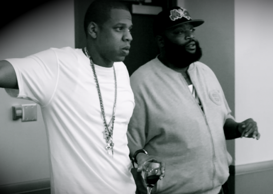 Jay Z and Rick Ross