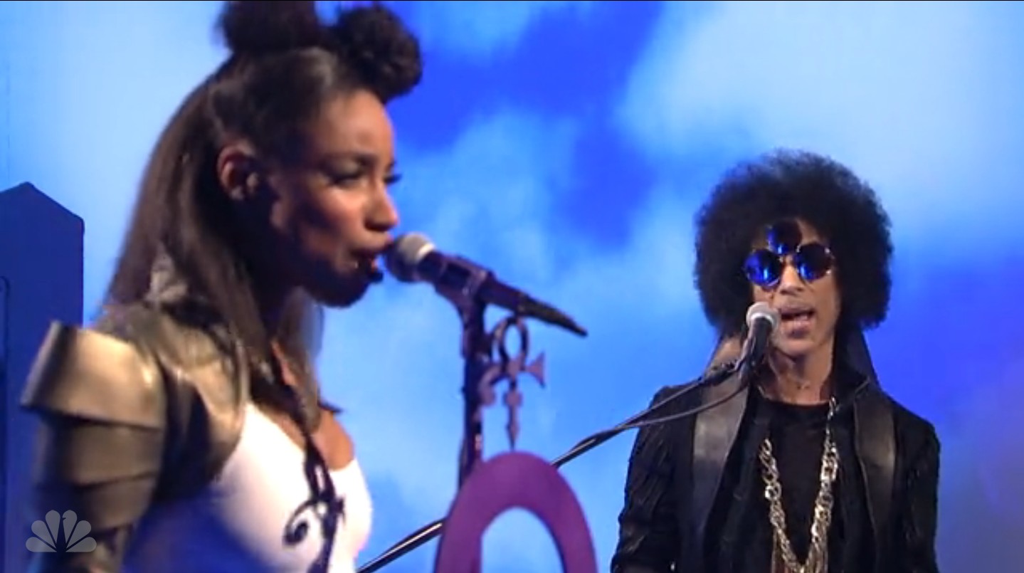 Image result for prince snl 2014