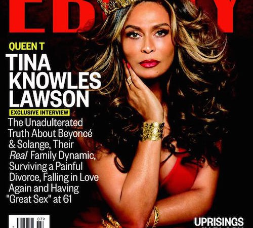 tina knowles ebony cover