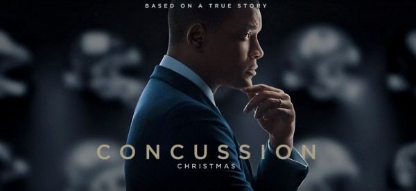 """Will Smith starring in """"Concussion"""" out on December 25."""