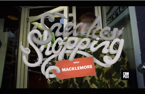 Sneaker Shopping with Mackemore
