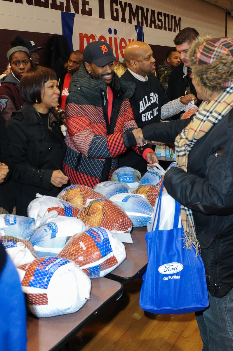 big sean dej loaf all-star thanksgiving giveaway
