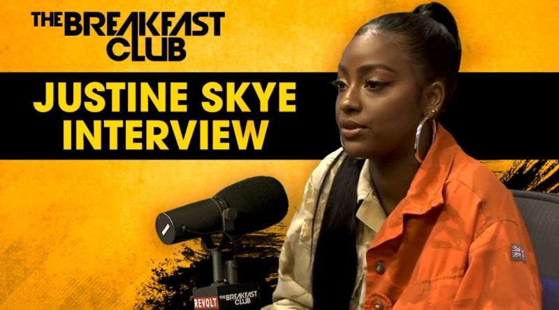 Justine Skye Opens Up About Her Domestic Violence Experience